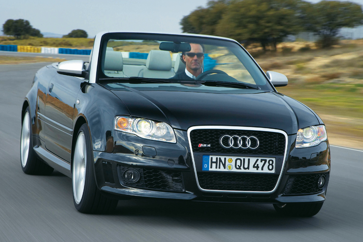 Audi Rs4 Cabriolet B7 Review 2007 2008 Price Specs And 0 60 Time Evo