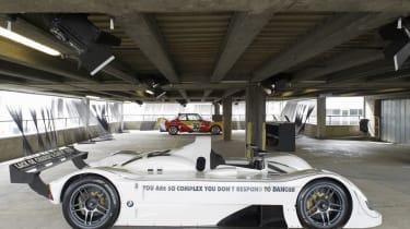 BMW V12 LMR by Jenny Holzer