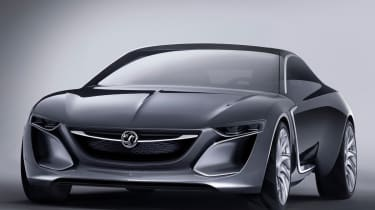 Opel Monza concept car front view