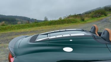 Audi R8 V10 Plus Spyder – rear deck
