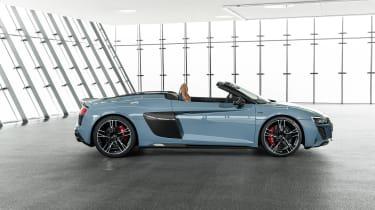 Audi R8 Spyder facelift - profile
