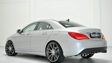 Brabus Mercedes CLA silver