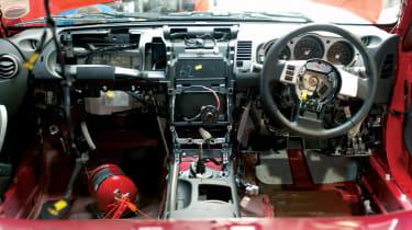 Nissan 350Z Racer interior