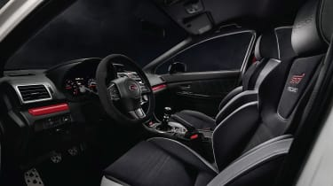 Subaru WRX STI S209 - interior