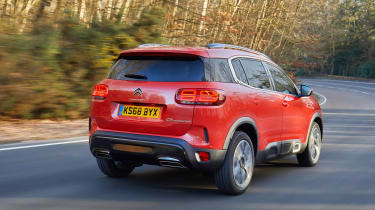 Citroen C5 Aircross - rear quarter orange