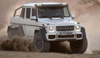 Mercedes G63 AMG 6x6 six wheeler
