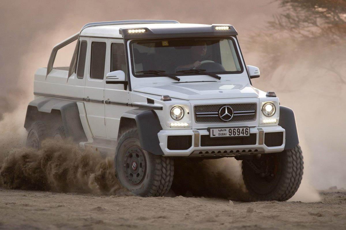 Mercedes G63 Amg 6x6 Makes Production Evo