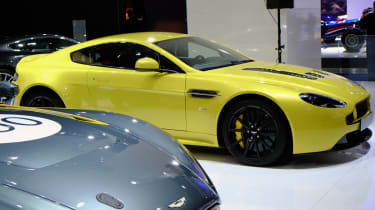 Aston Martin V12 Vantage S pictures and video: Frankfurt motor show 2013