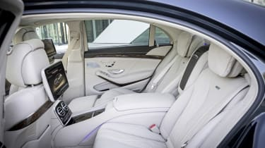 Mercedes S65 AMG rear seats