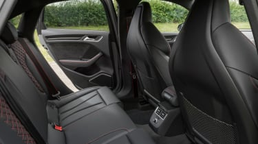 Audi RS3 - rear seats