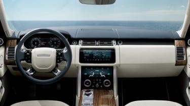 MY18 Range Rover - dash
