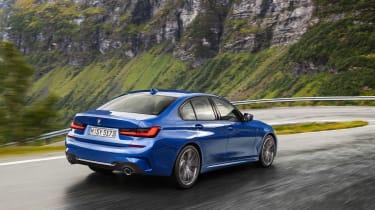 BMW 3-series review - rear quarter