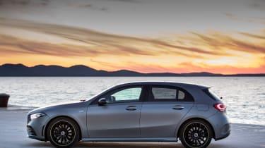 Mercedes A-class - profile