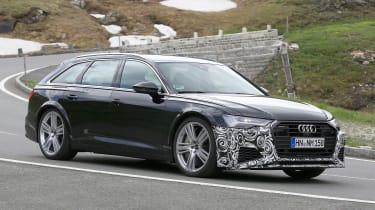 Audi RS6 Avant spy - side