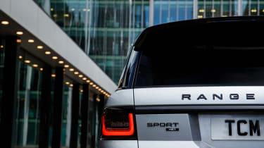 Range Rover Sport Ingenium badge
