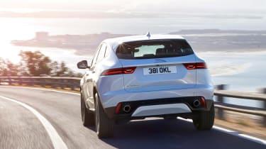 Jaguar E-Pace - white rear2