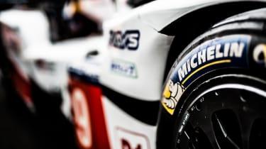 Le Mans 2017 Michelin tyre