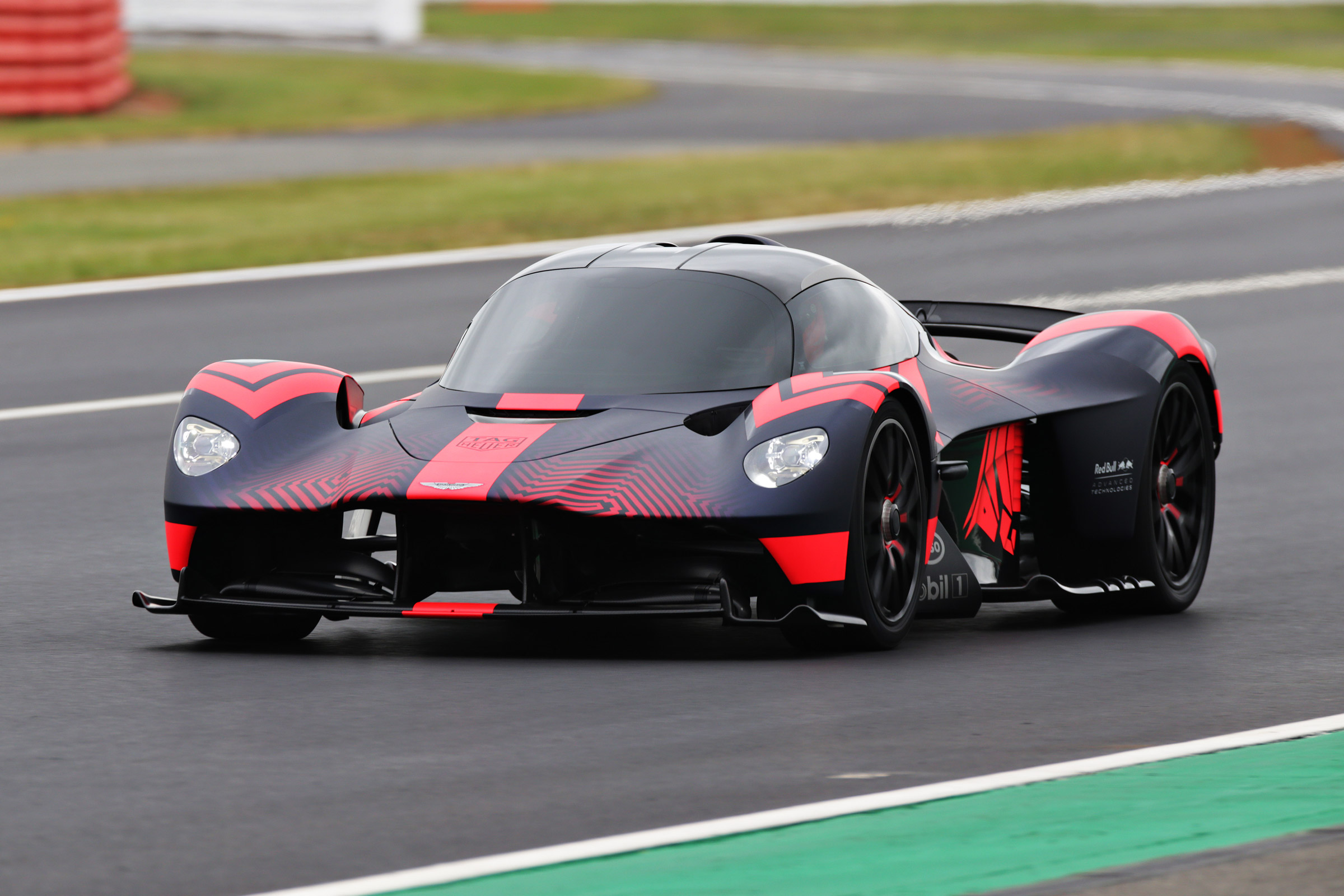 Aston Martin Valkyrie 1160bhp Hypercar Debuts On Track At