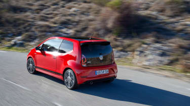 Volkswagen Up GTI 2018 rear corner