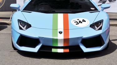 Lamborghini 50th anniversary tour video