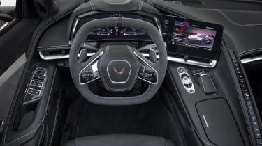 Chevrolet Corvette C8 Cab EU review – cabin