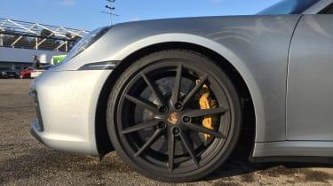 Porsche 911 on location - wheels