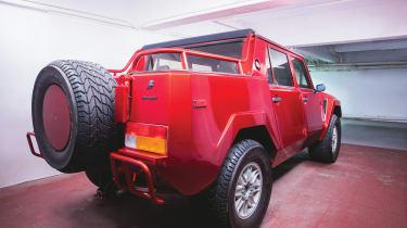 Lamborghini LM002 – rear quarter