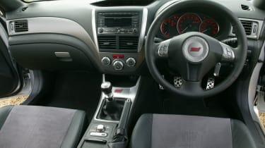 Subaru Impreza WRX STI dashboard