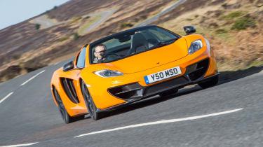 McLaren 12C Spider – cornering