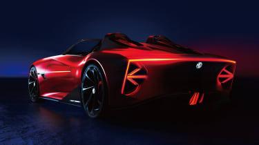 MG Cyberster Roadster - rear quarter