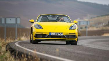 Porsche 718 Boxster GTS – front