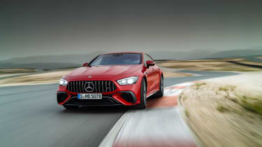 Mercedes-AMG GT63 S E Performance 2 – front tracking 2