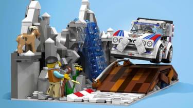 LEGO Lancia Delta S4 - front