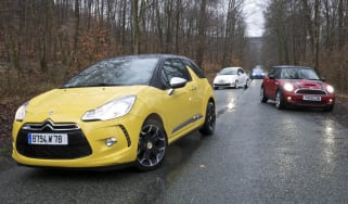 Citroen DS3 group test