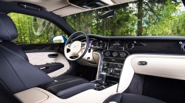 Bentley Mulsanne Speed - inteior