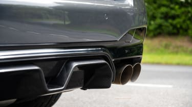 BMW M5 CS – rear bumper insert