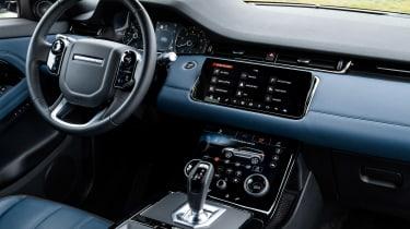 2019 Range Rover Evoque silver - dash