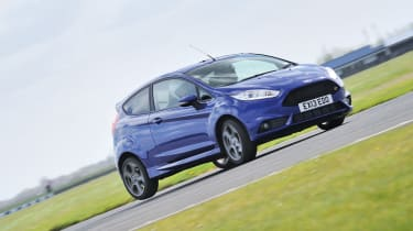 Ford Fiesta ST on track