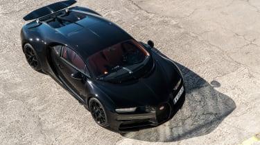 Bugatti Chiron - from above