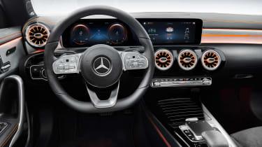 Mercedes CLA 2019 revealed - dash