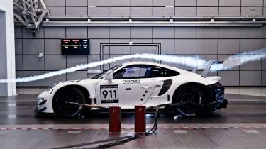 Porsche 911 RSR - profile