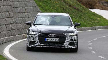 Audi RS6 Avant spy - nose