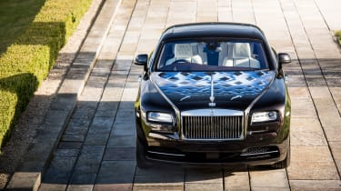 Rolls-Royce Wraith Inspired by Music - front