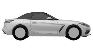 BMW Z4 patent leak - side