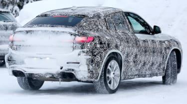 BMW X4 M development car - Rear