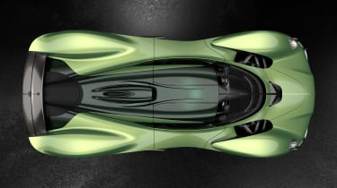 Aston Martin Valkyrie Q by AM - green top