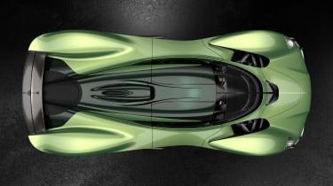 Aston Martin Valkyrie Q by AM - green top