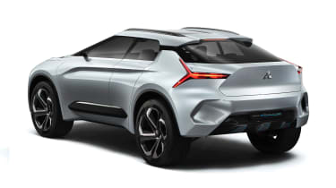 Mitsubishi e-Evolution rear