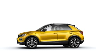 VW T-Roc - Yellow profile