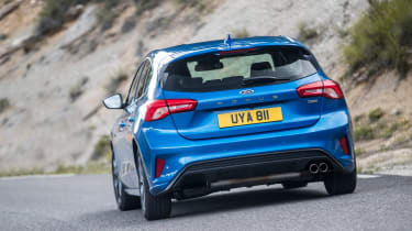 Ford Focus ST-Line review - rear